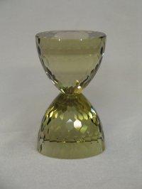 Песочные Часы. Полосчатый цитрин, 1770 ct., 53 x 90 мм