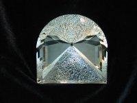 Пирамида Сил. Горный хрусталь, 1756 ct., 80 x 80 мм